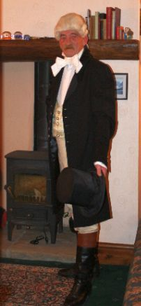 Bob as Samuel Oldknow